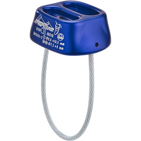 AustriAlpin Tuber Standard Belay Device azure anodized